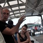 Eifert János a vásárhelyi piacon (Till Panni felvétele)