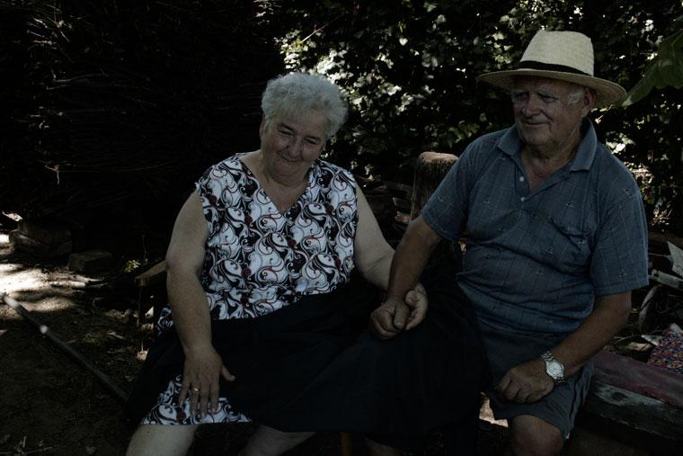 Kardos József és felesége (Photo: Eifert János)