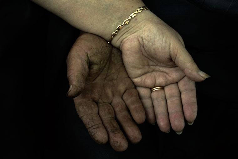A Kardos-házaspár kezei (Photo: Eifert János)