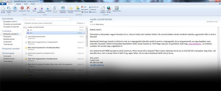 E-mail Eszéki Erzsitől, 2012.06.29.