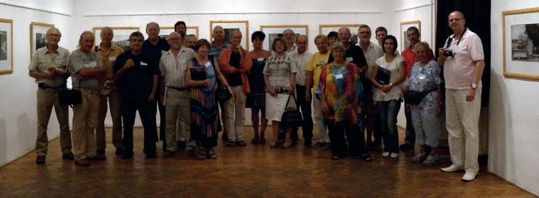 19. Egri Fotóművészeti Alkotótábor résztvevői