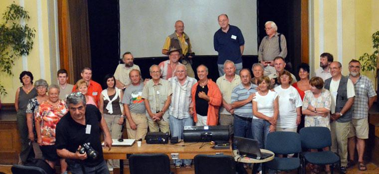 19. Egri Fotóművészeti Alkotótábor résztvevői (Fejér István felvétele)