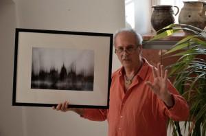 Eifert János Oláh Gergely Máté képeiről beszél (Fotó-Trixie)