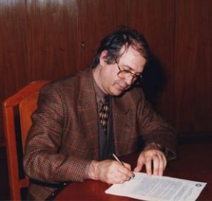 Megállapodás a Jelenkori Gyűjtemény létrehozásáról, Eifert aláír