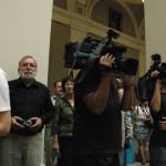 Fotósok, tévések, tudósítók a díjátadón  (Photo: Eifert János)