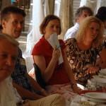 Újságírók, TV-sek, riporterek a Vásárhelyről elszármazottak találkozóján, Mártély, 2012. augusztus 25. (Photo: Eifert János)