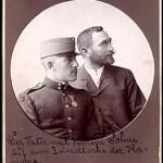 Mai Manó és fia, Artúr ( celloidin, kabinetkép, 1899)