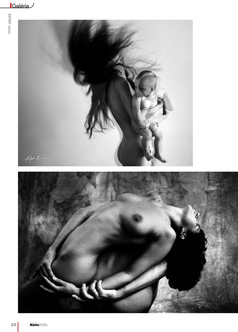 Black&White, XIV. évf. 2012/02.szám, 22. oldal, Eifert János aktfotóival