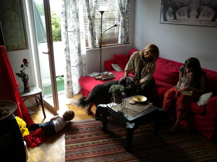 Ildikó, Sári, Bori és Poci (Photo: Eifert János)
