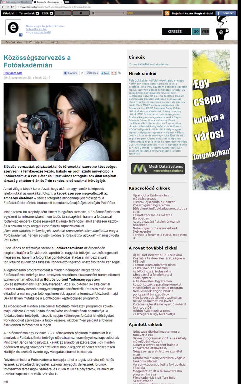 2012.09.28-Espresso.hu-Közösségszervezés-a-Fotóakadémián