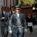 Prága, örségváltáshoz indulnak a katonák (Photo: Eifert János)