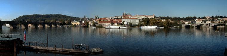 Prága, panorámakép (Photo: Eifert János)