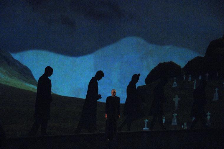 Ibsen: Peer Gynt, Horváth Csaba rendezésében (Photo: Eifert János)