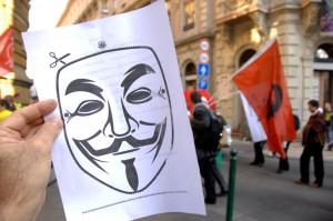 Anarchisták-Közössége-tüntetése (Photo: Eifert János)