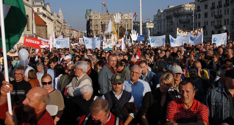 MILLÁS-tüntetés (Photo: Eifert János)