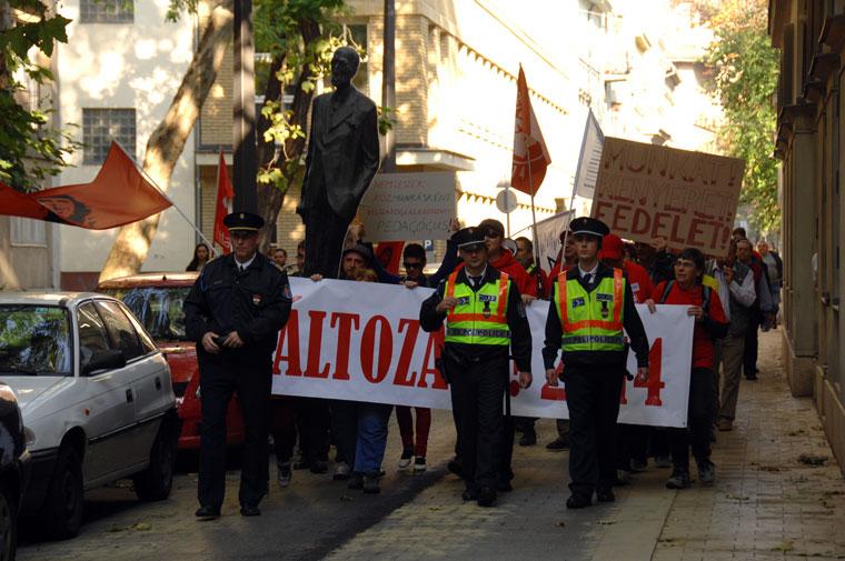 Anarchisták Közössége felvonulása  (Photo: Eifert János)