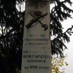 Hont, 1.-világháborús-emlékmű