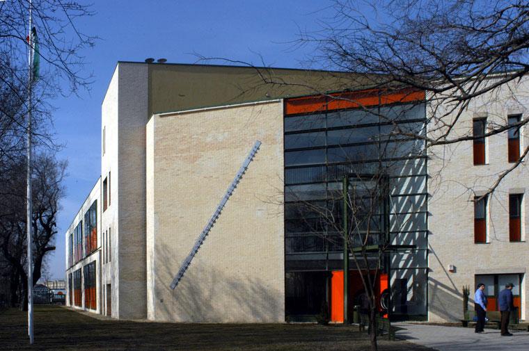 Magyar Táncművészeti Főiskola, új épület (Photo: Eifert János)