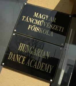 Magyar Táncművészeti Főiskola (Photo: Eifert János)