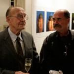 Gedeon Péter-édesapjával (Eifert János felvétele)