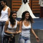 Kata és barátnője táncol (Photo: Eifert János)