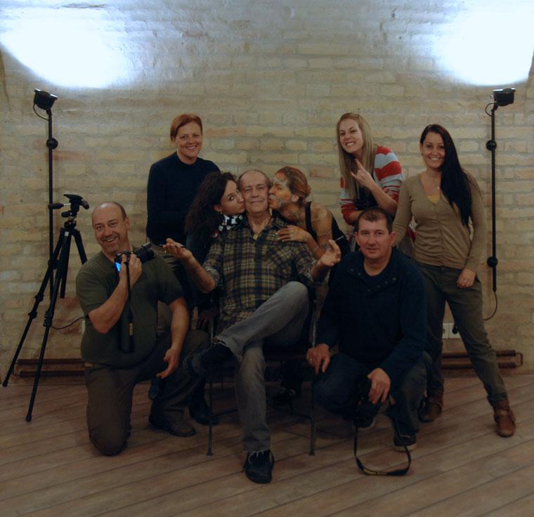 Aktworkshop, csoportkép