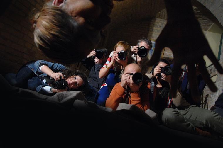 Fényképező hallgatóim (Eifert János felvétele)