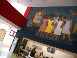 Hódmezővásárhely, a Bessenyei Ferenc Művelődési Központ előcsarnoka (Photo: Eifert János)