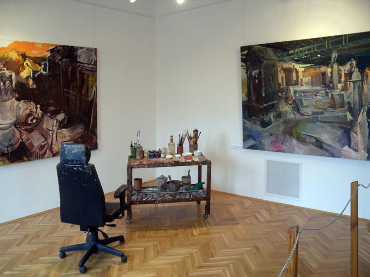 Csernus Tibor kiállítása a Tornyai János Múzeumban (Photo: Eifert János)