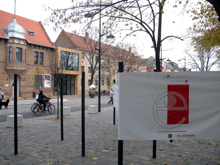 hódmezővásárhely, Tornyai János Múzeum a sétálóutcában  (Photo: Eifert János)