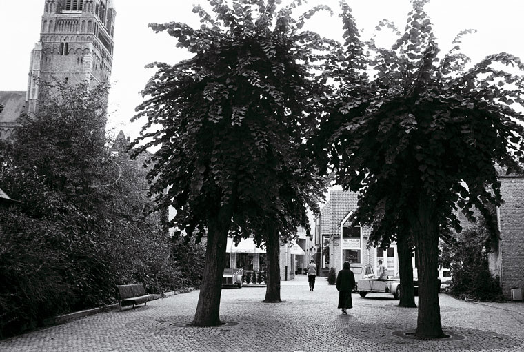 Oostende belvárosában (Belgium, 1983. szeptember) Photo: Eifert János