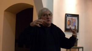 Koltai Lajos a Sorstalanság c. filmjének készítéséről beszél (Photo: Eifert János)