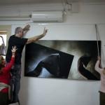 2013.01.28. Zagreb, Eifert kiállítását rendezi (Photo: Vinko Sebrek)