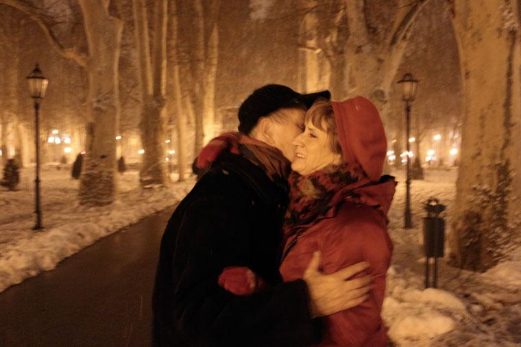 2013.01.28-Zagreb-Ildikóval-a-hóesésben