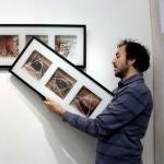 2013.01.28. Zagreb, kiállításom rendezése (Eifert János felvétele)