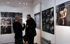 2013.01.29. Renato Pejkovic fotóstársával beszélget