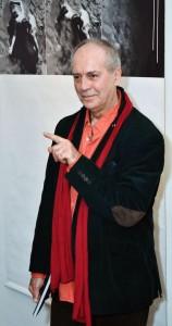 2013.01.29. Zagreb, Eifert János kiállításának megnyitóján megköszöni a Fotoklub Zagreb meghívását  (Photo: Ognjen Karabegovic)