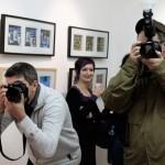 2013.01.29. Zagreb, Eifert-kiállítás megnyitó
