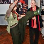 2013.01.29. Zagreb, Móger Ildikó táncol (Photo: Ognjen Karabegovic)