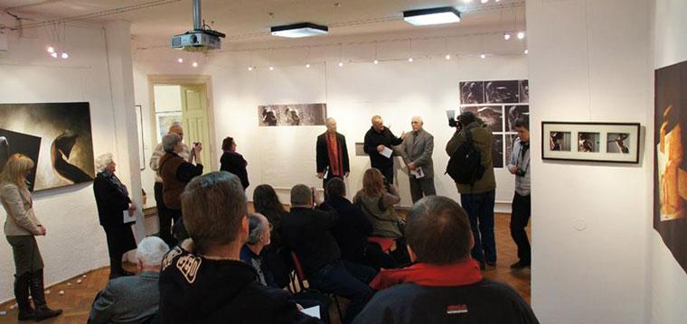 2013.01.29. Zagreb, Eifert-kiállítás megnyitója (Photo: Davor Dolenčić)