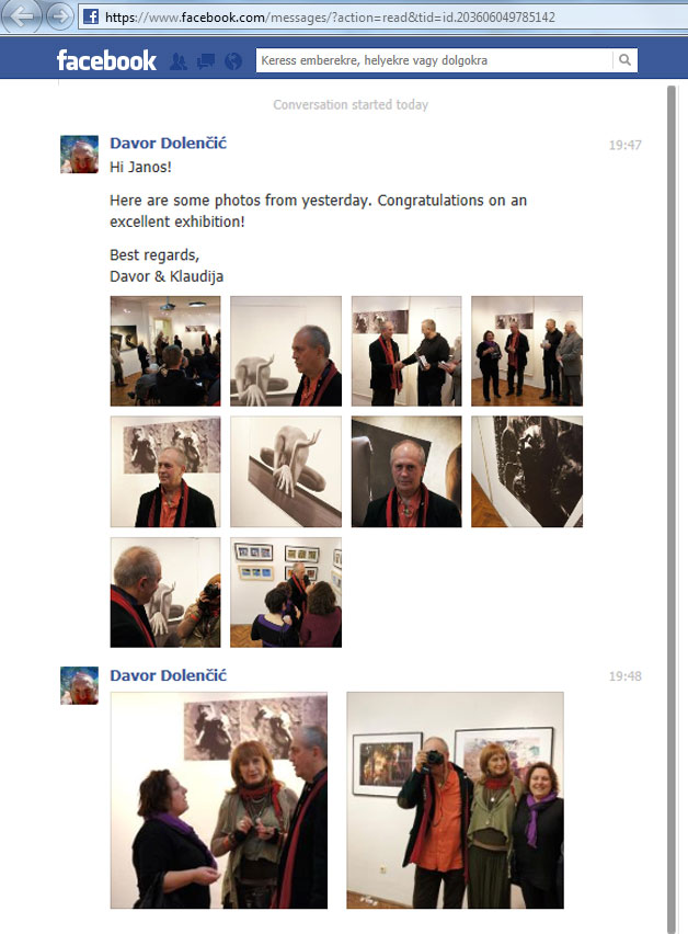 2013.01.30. Facebook, Davor Dolenčić albuma