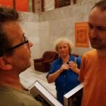 2007.05.23. Stalter György, Vékás Magdolna (hátul), Baki Péter (Photo: Eifert János)