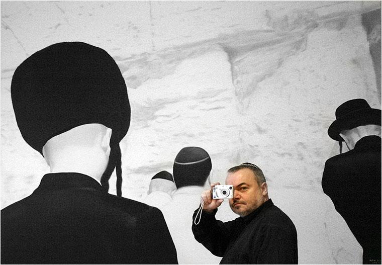Fehér László festőművész (Photo: Eifert János)