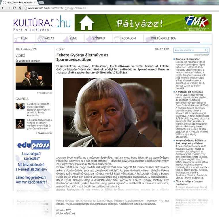 2012.09.29.-Kultúra.hu-Fekete-györgy-életműve-az-Iparművészetiben