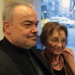 Fehér László festőművész és Heller Ágnes filozófus (Photo: Eifert János)