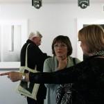 2013.03.12.-Fehér-László-kiállításán (Photo: Eifert János)