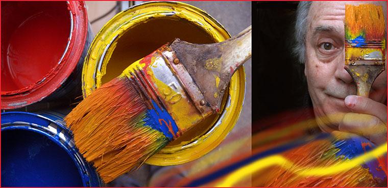 2013.03.19.-Önarckép-ecsettel-festékekkel