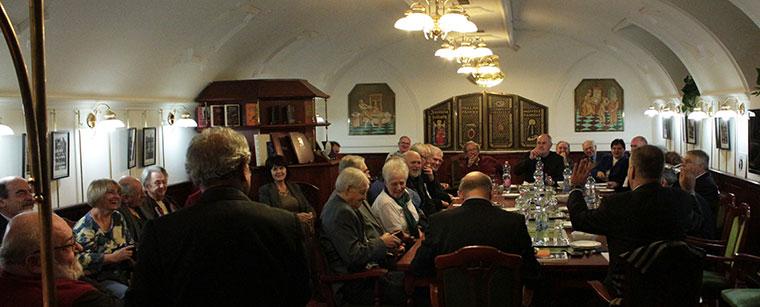 XXI. Század Társaság ülése a Pallas Páholyban (Photo: Eifert János)