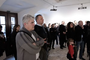 Tihomir Pinter exhibit.opening (Photo: Eifert János)