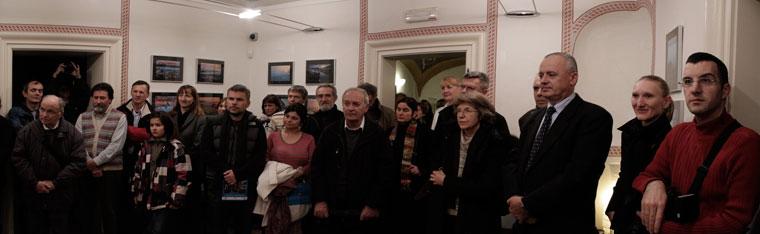 Kranj, Layer-ház, Rok Gorec kiáll.megnyitó (Photo: Eifert János)